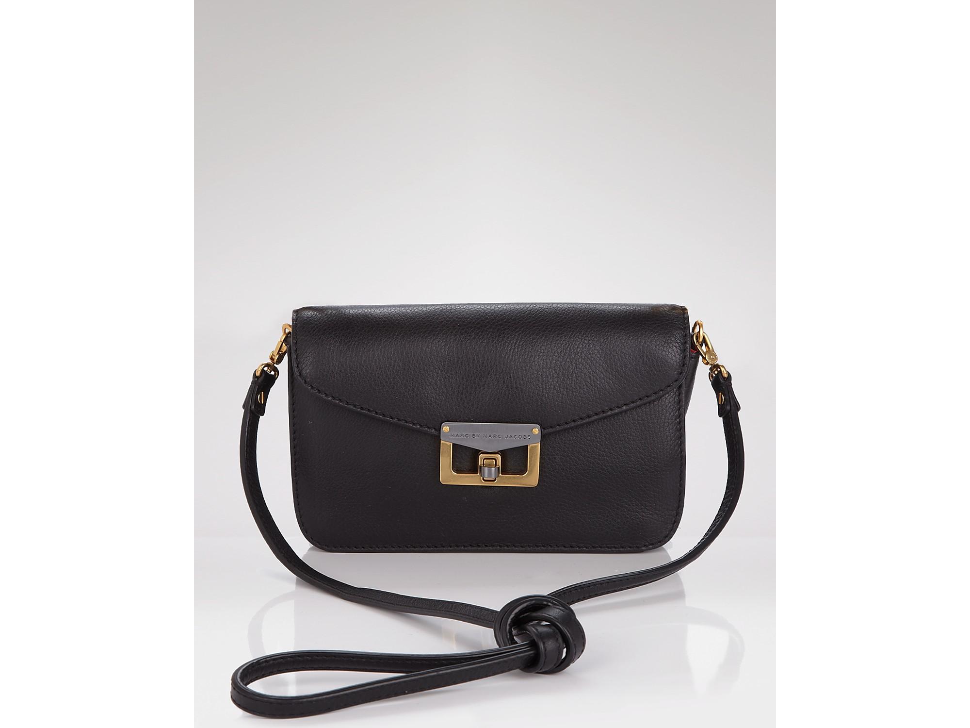 1366f63b8c2 Marc By Marc Jacobs Bianca Jane On A Leash Crossbody Bag in Black - Lyst