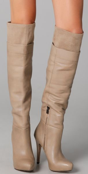Buy over the knee boots. Shoes