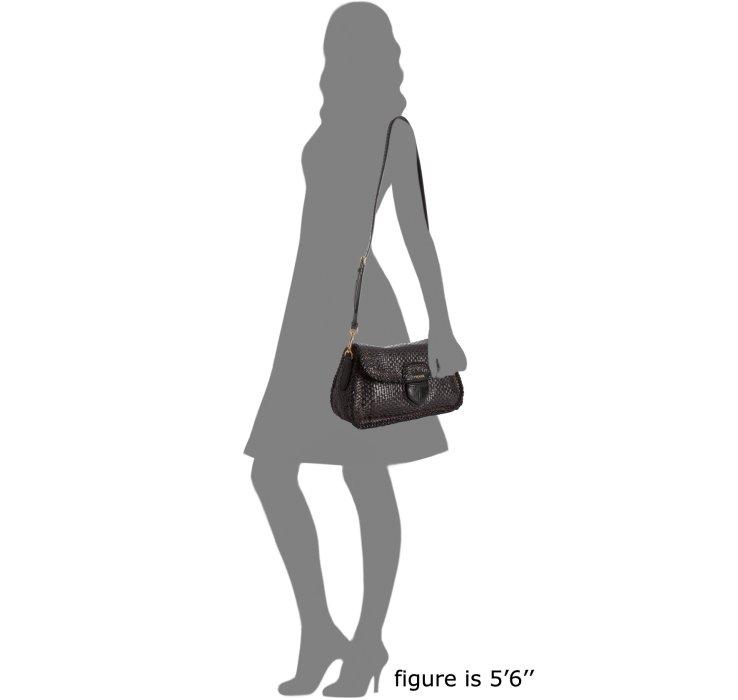 www prada handbag for sale - Prada Brown and Black Woven Leather Madras Shoulder Bag in Brown ...
