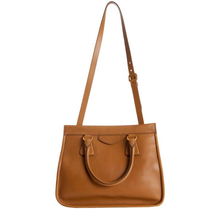 prada leather handbags - Prada Cinnamon Leather City Calf Medium Convertible Tote in Brown ...