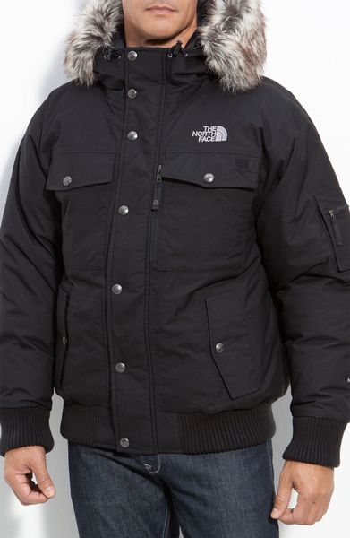 The North Face Gotham Jacket In Black For Men Lyst