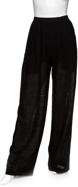 Theyskens' Theory Wide Leg Pants in Black