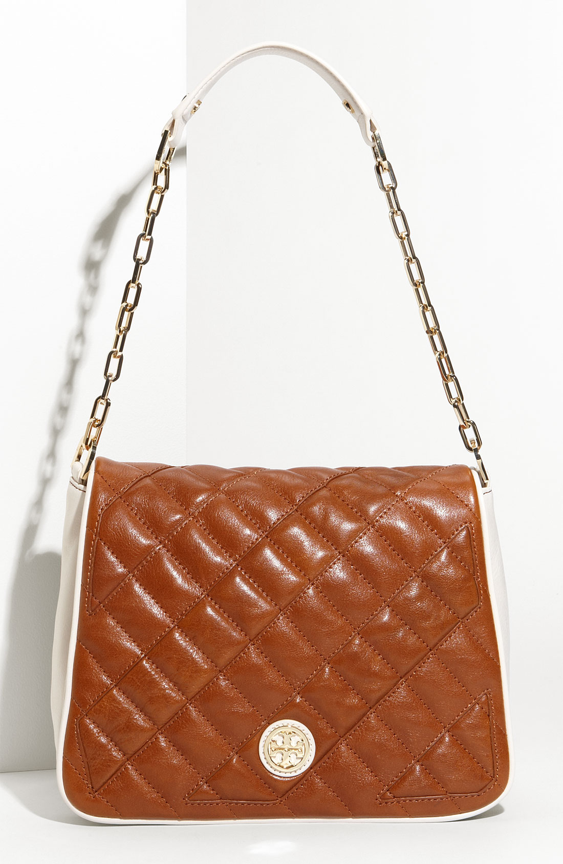 Tory Burch Quilted Cut Out Shoulder Bag 115