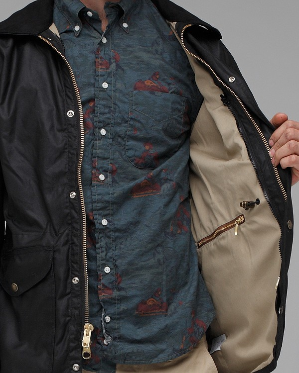 f7e99ab34 Filson Black Cover Cloth Weekender Coat for men