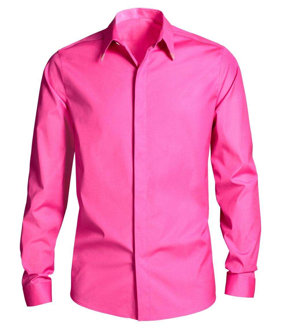 Cerise Pink Shirt | Is Shirt