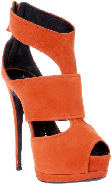 Giuseppe Zanotti Shoe Boot in Orange