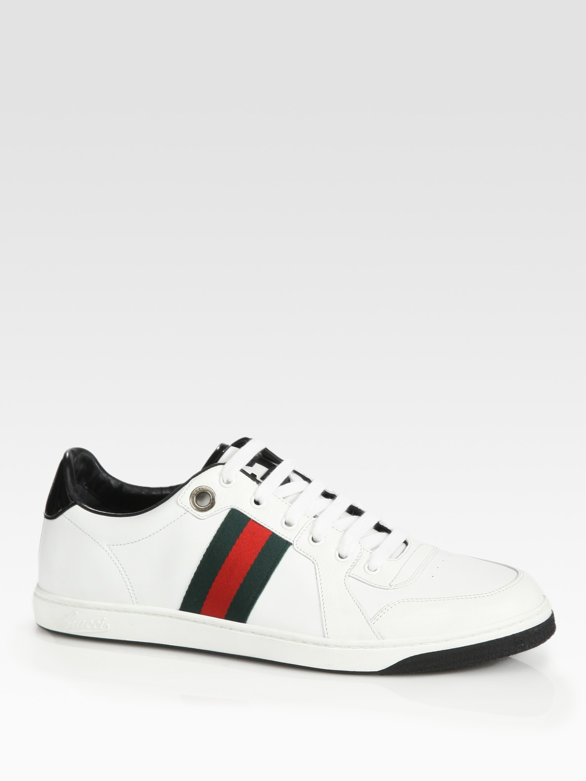 Gucci Classic Sneaker in Black (White