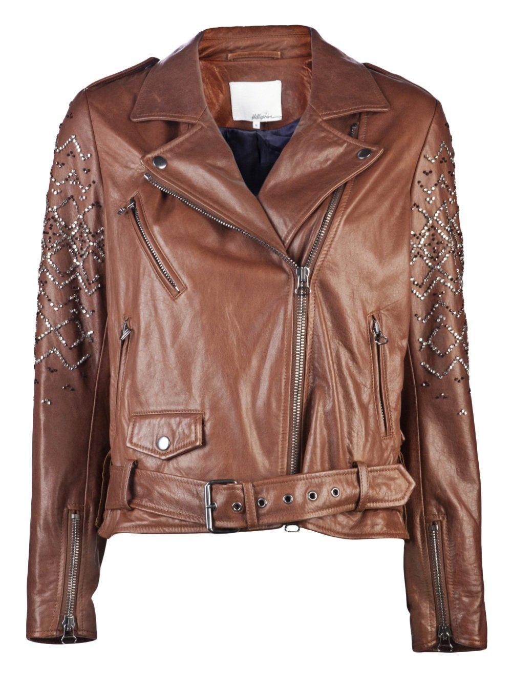 Philip lim leather jacket