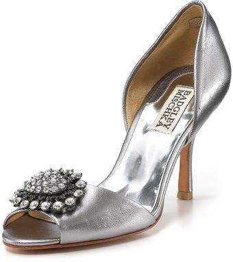 Badgley Mischka Pumps - Lacie Dorsay Evening - Lyst