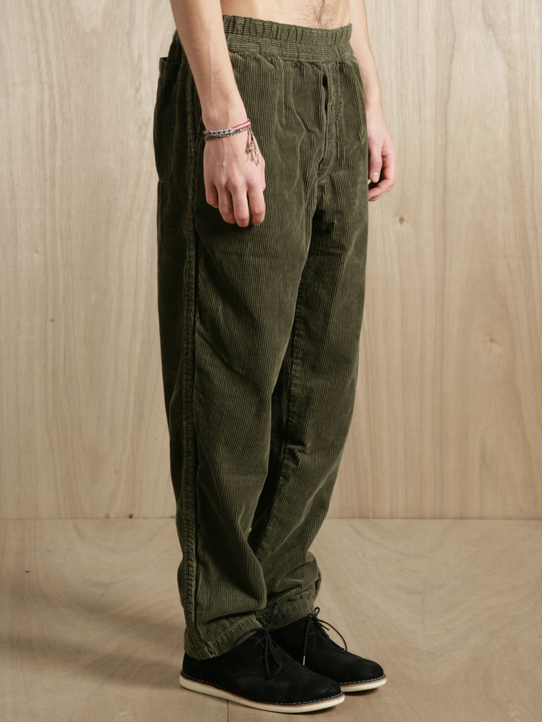 Comme des garçons Shirt Mens Heavy Corduroy Trousers in Green for ...