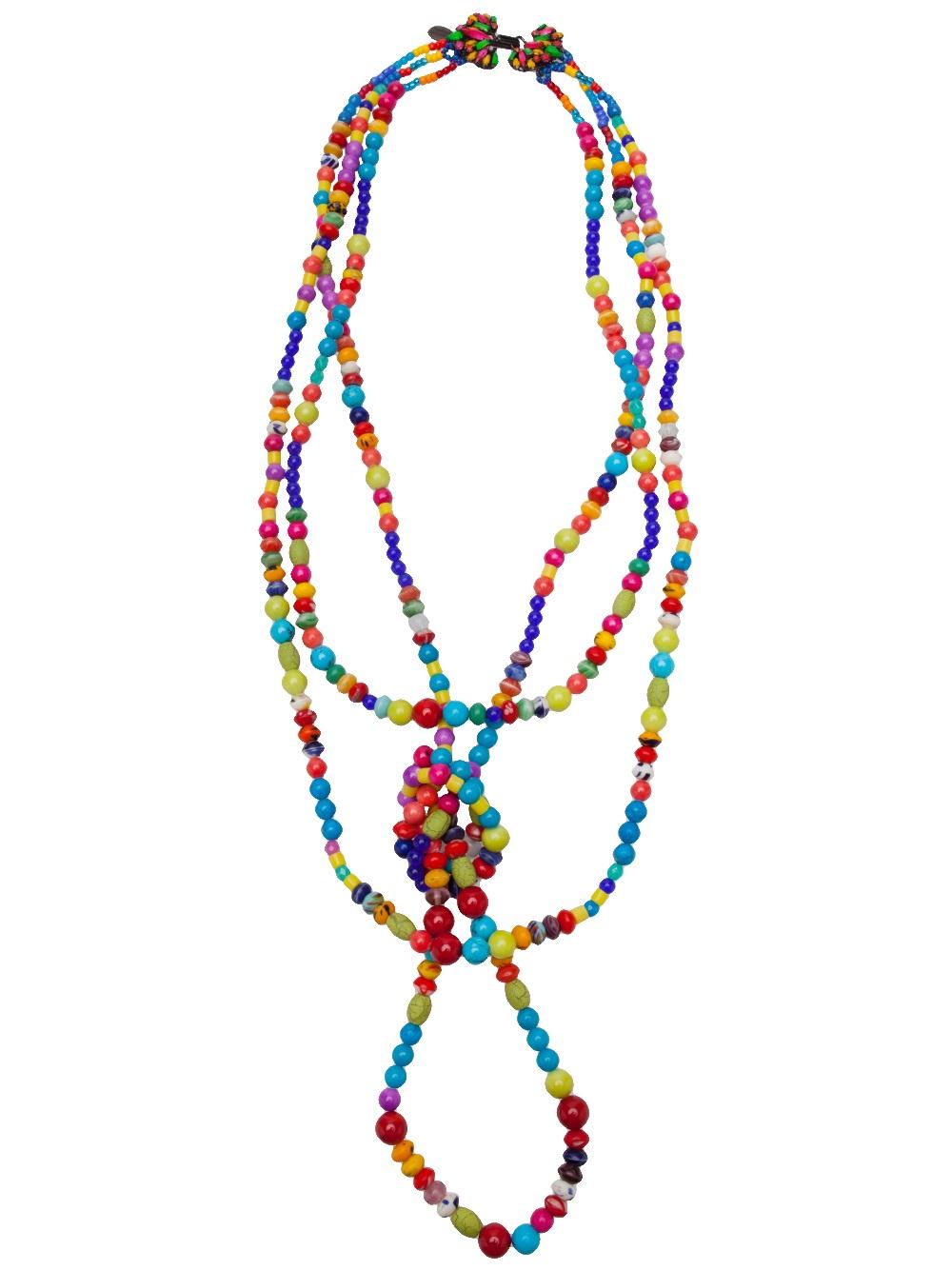 Erickson Beamon Black Magic Woman Necklace