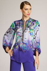 Etro Painterly Paisley Blouse