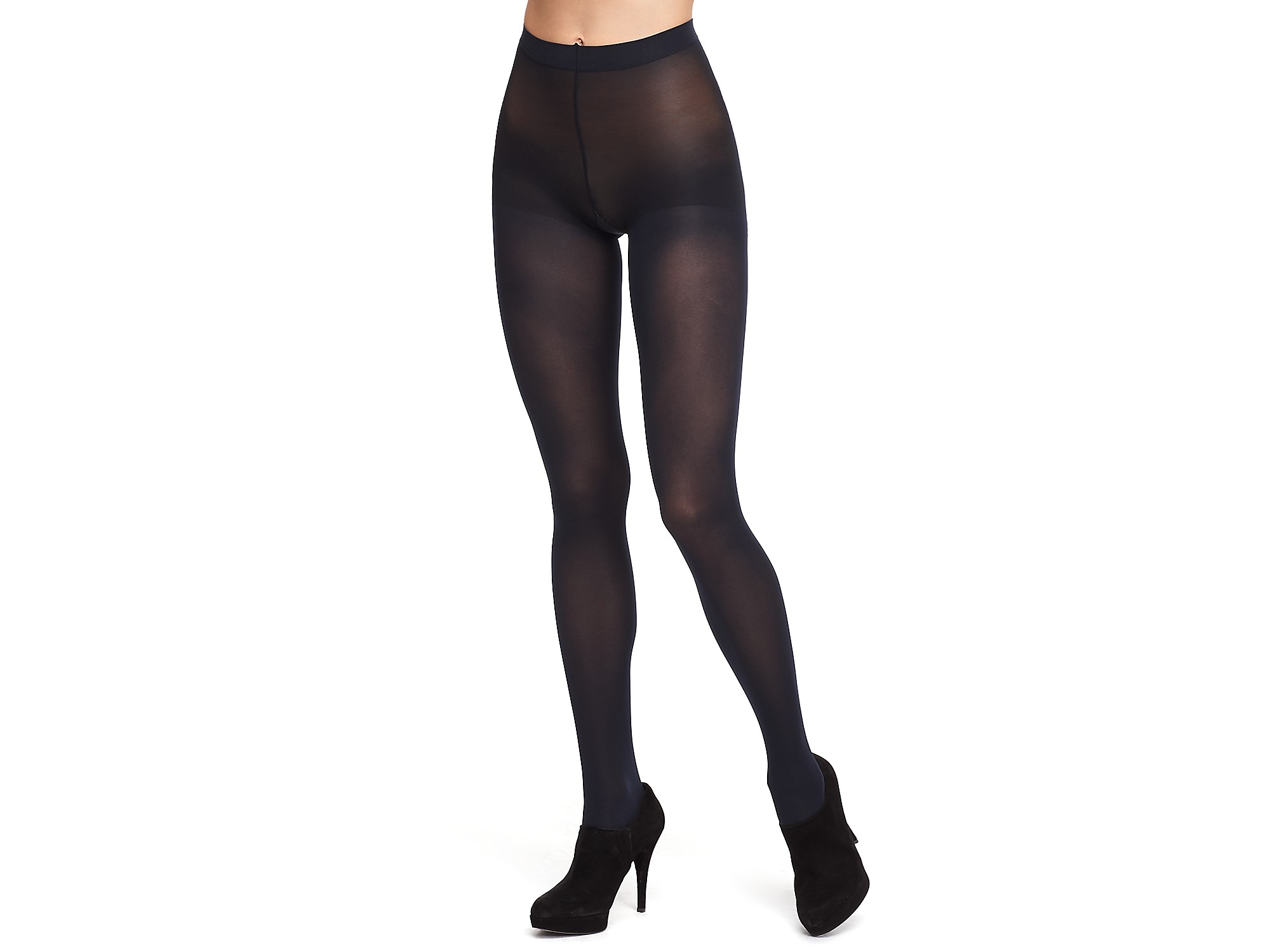148d11ea9 Hue Opaque Tights Sheer To Waist in Purple - Lyst