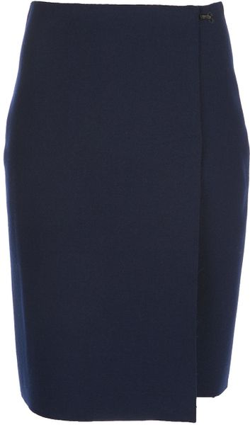 Lanvin Skirt in Blue - Lyst
