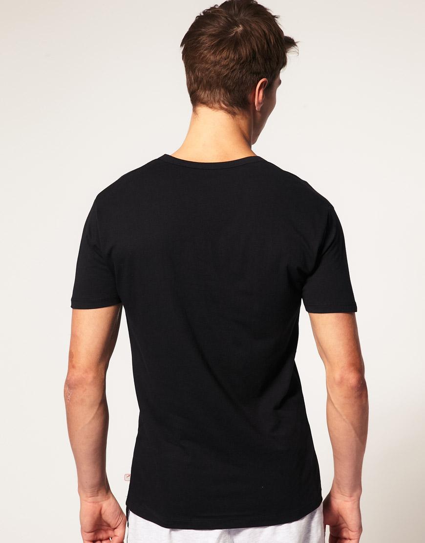 Puma 2 Pack V Neck T Shirts In Black For Men Lyst