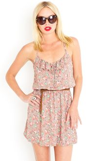 Nasty Gal Tied Bouquet Sundress - Lyst