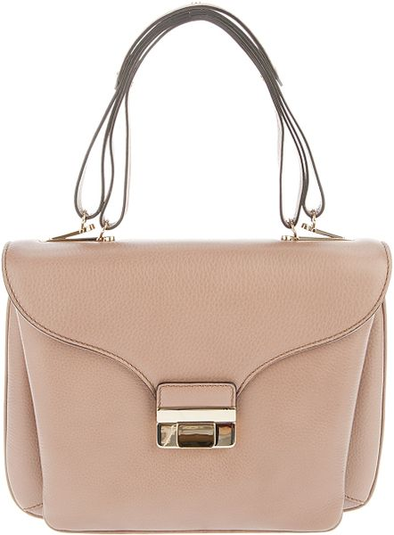 Valentino Gold Clasp Bag in Pink (gold)