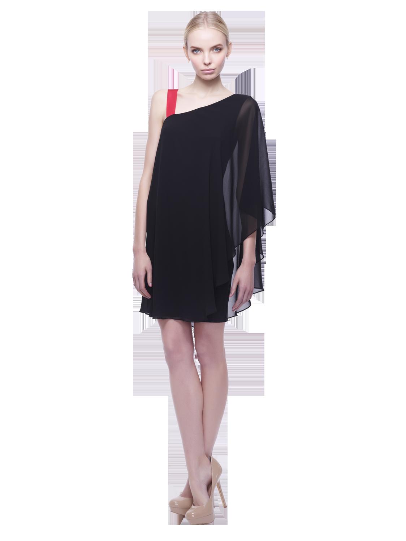 Erin Fetherston Asymmetrical Dress In Black Lyst