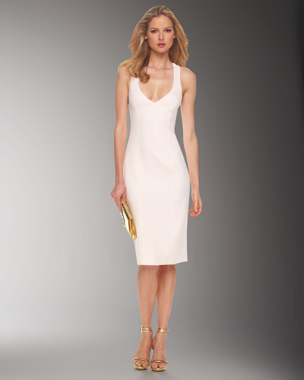 White Sheath Dresses