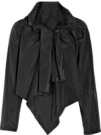 Vivienne Westwood Gold Label Embroidered Silk and Cotton-blend Jacket - Lyst