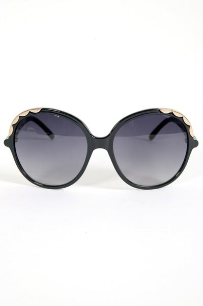 Chloé Sunglasses  in Black - Lyst