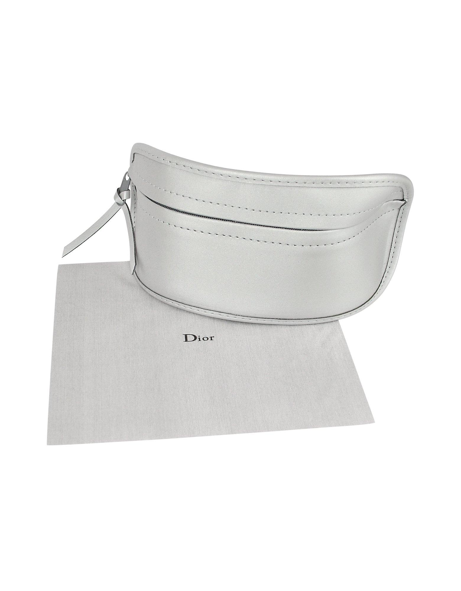 055c5426fd Lyst - Dior Suite Rimless Shield Sunglasses in Metallic