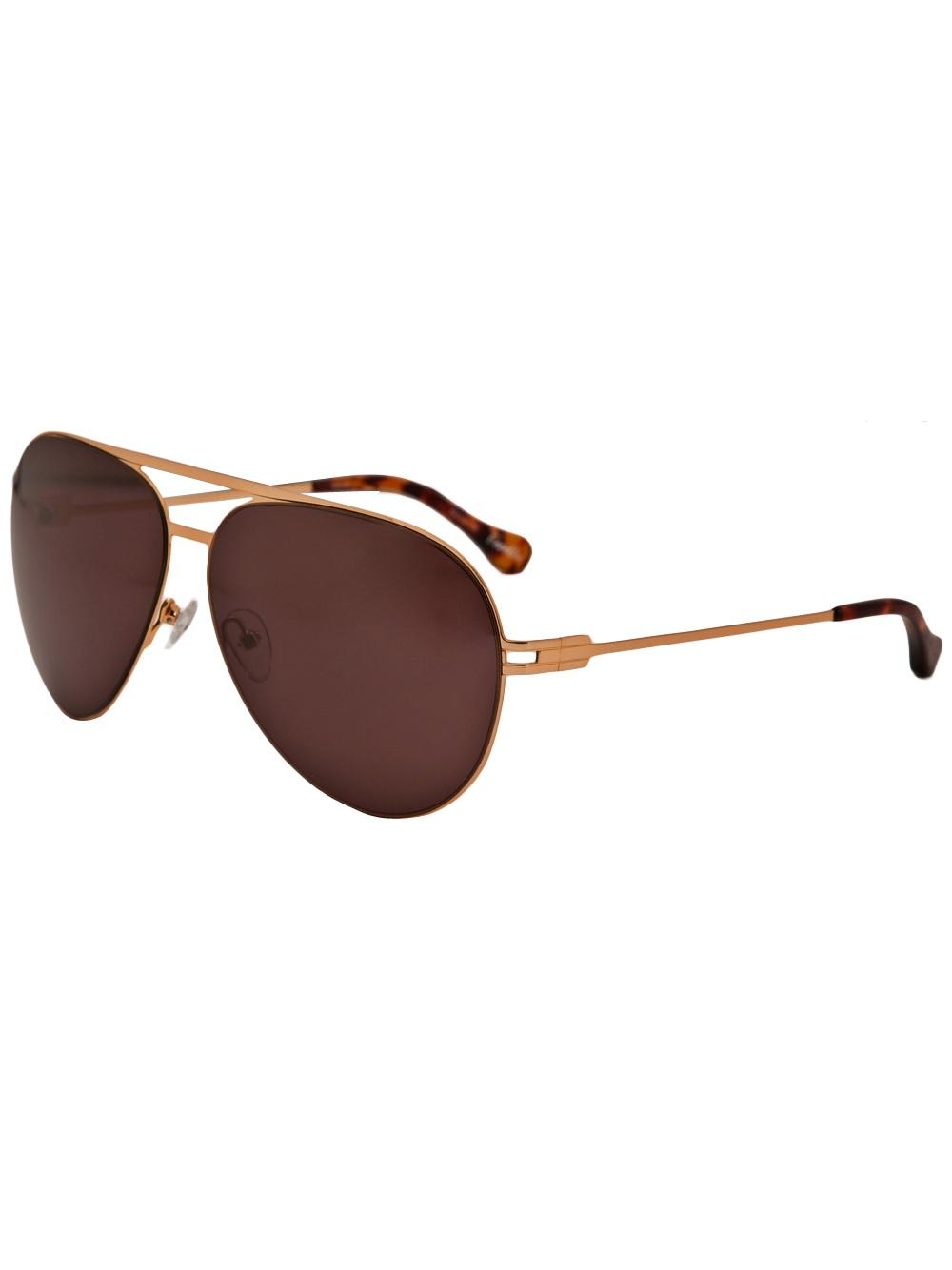 cdb2961717e Elizabeth And James Franklin Sunglasses in Metallic - Lyst