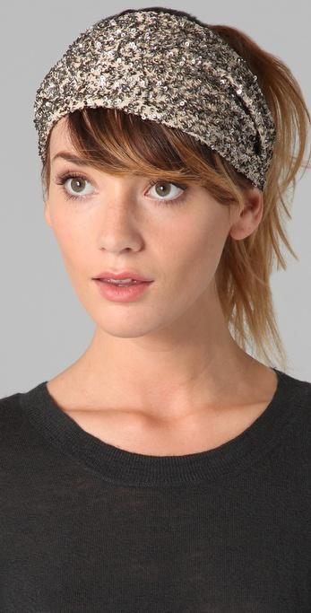 Lyst - Eugenia Kim Daniella Sequin Headband in Metallic 18b3347cf82