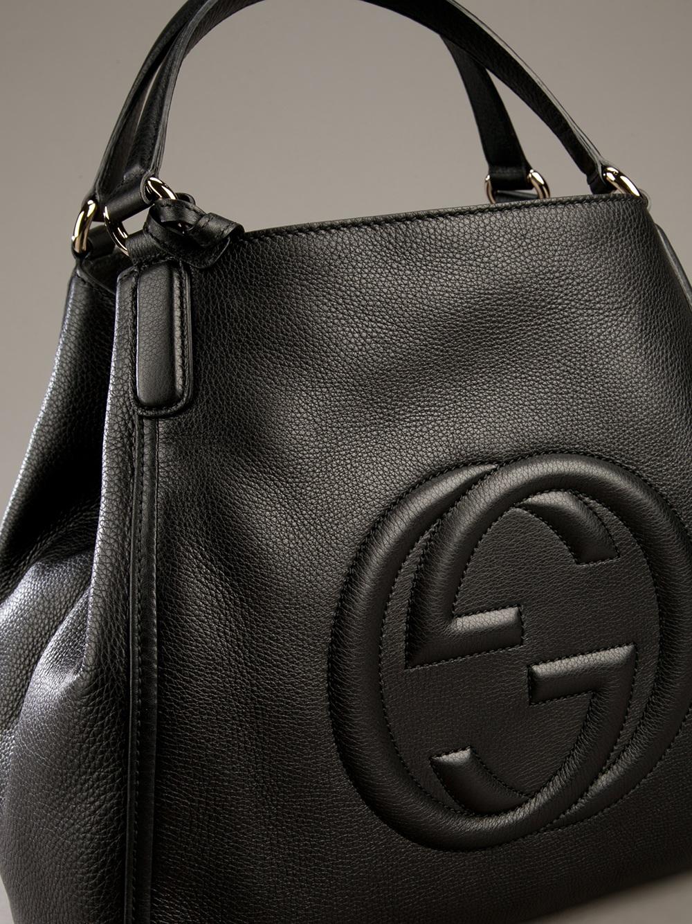 Gucci Soho Tote Bag In Black Lyst