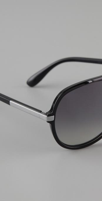 oversized black aviator sunglasses 89f2  Gallery