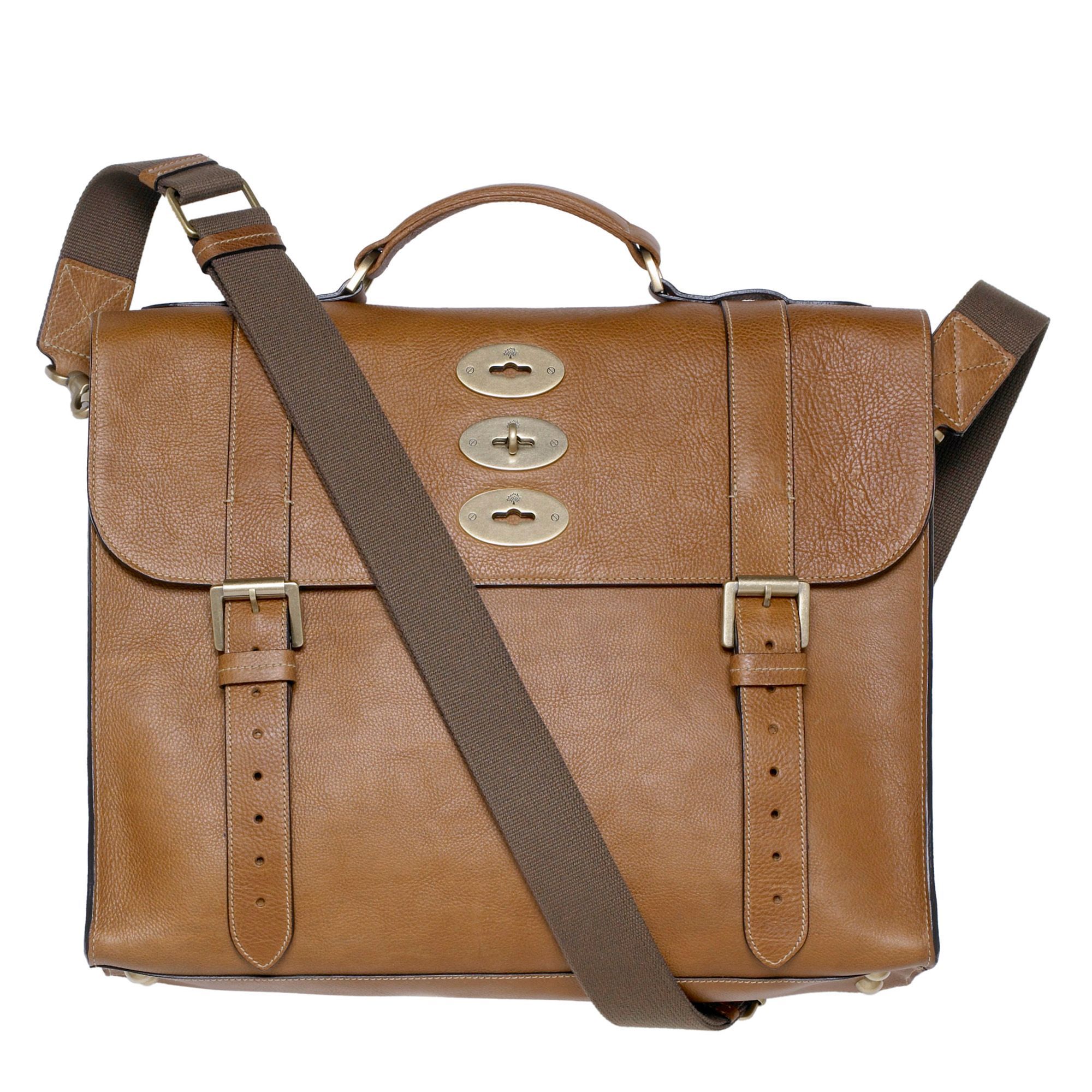 bbbef58884 ... czech mulberry ted convertible leather messenger bag in brown for men  lyst ec97d 439ab