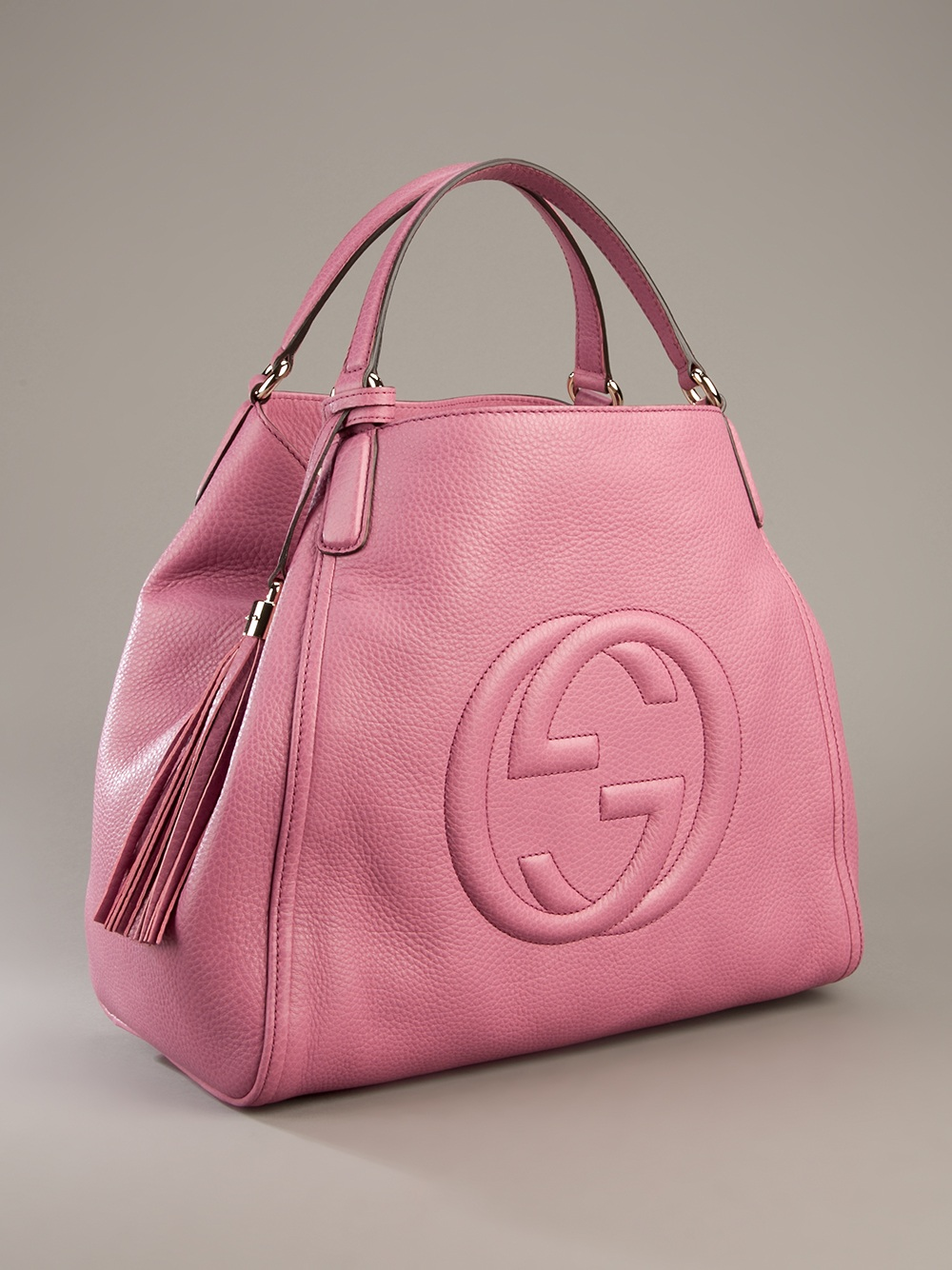Gucci Soho Large Sized Bag in Pink | Lyst