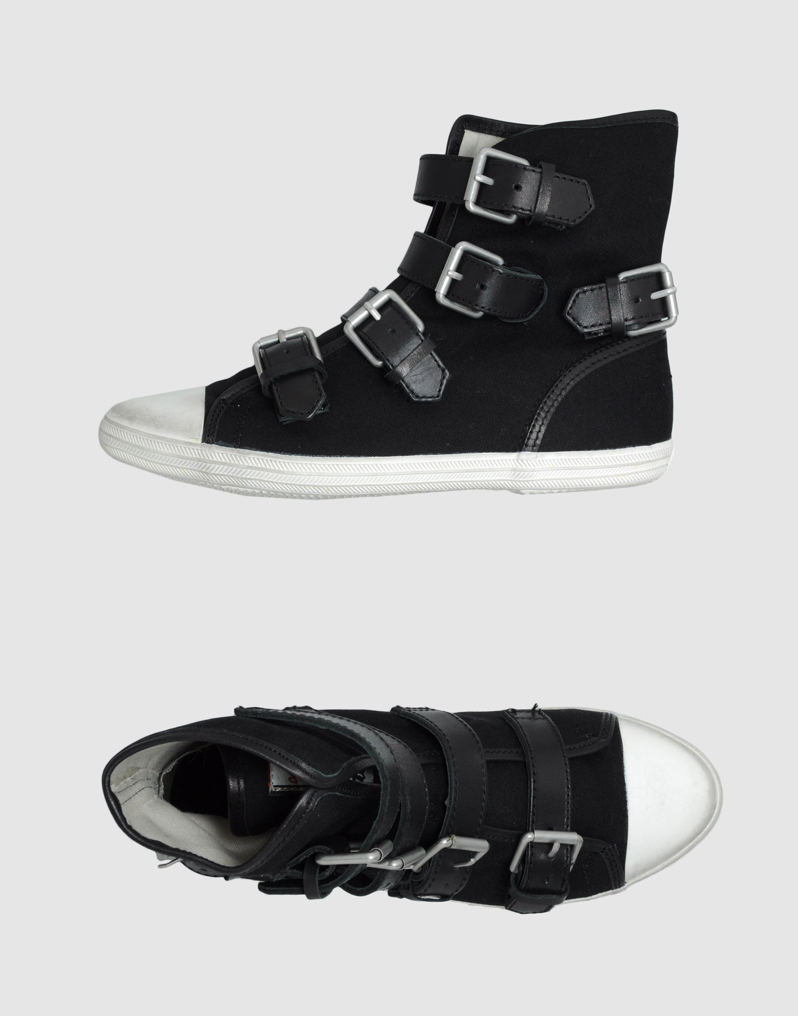 ash high tops trainers in black lyst. Black Bedroom Furniture Sets. Home Design Ideas