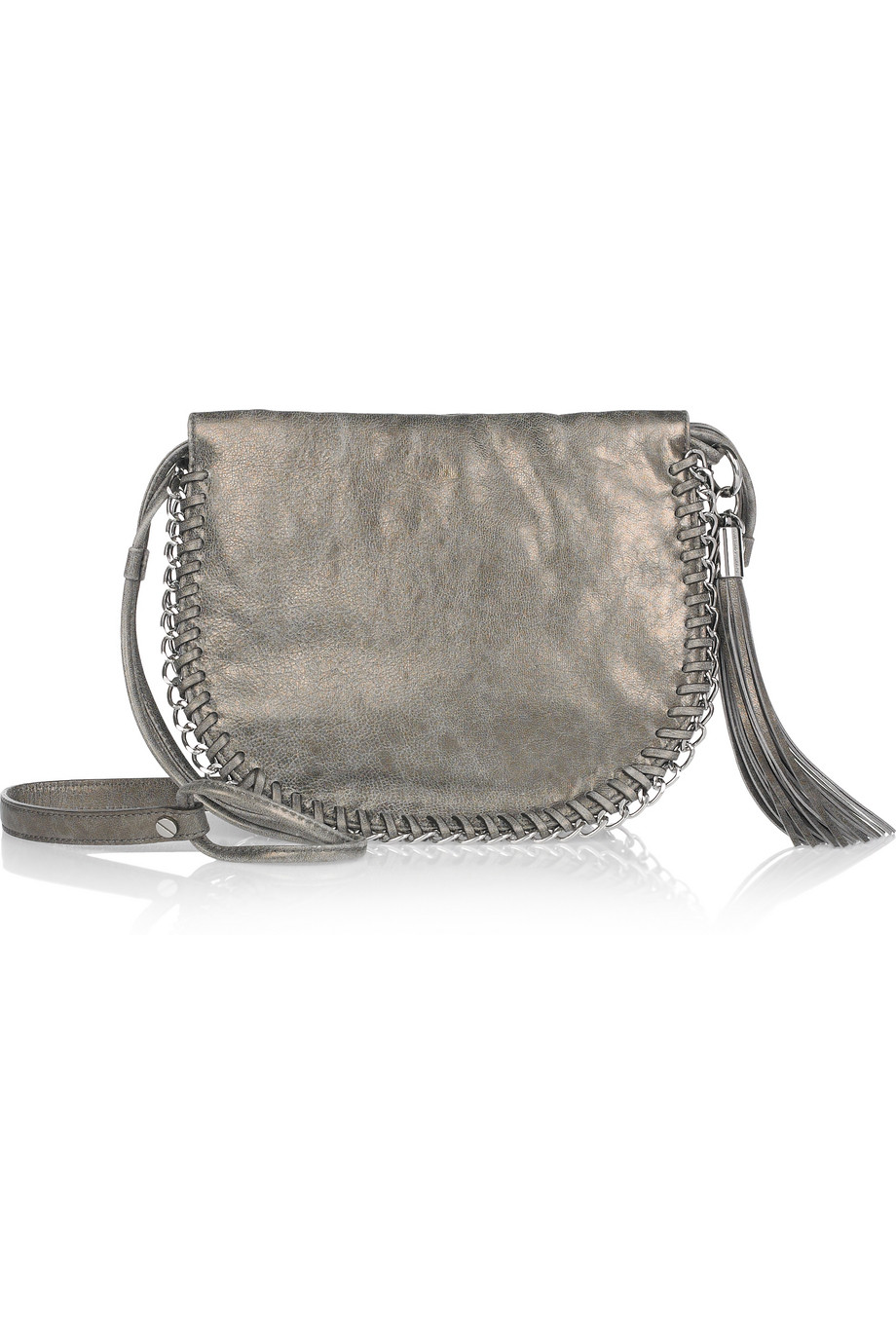 Michael Kors Fox Fur Shoulder Bag 24