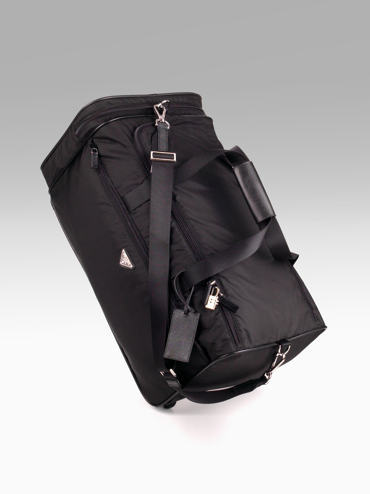 prada trolley black