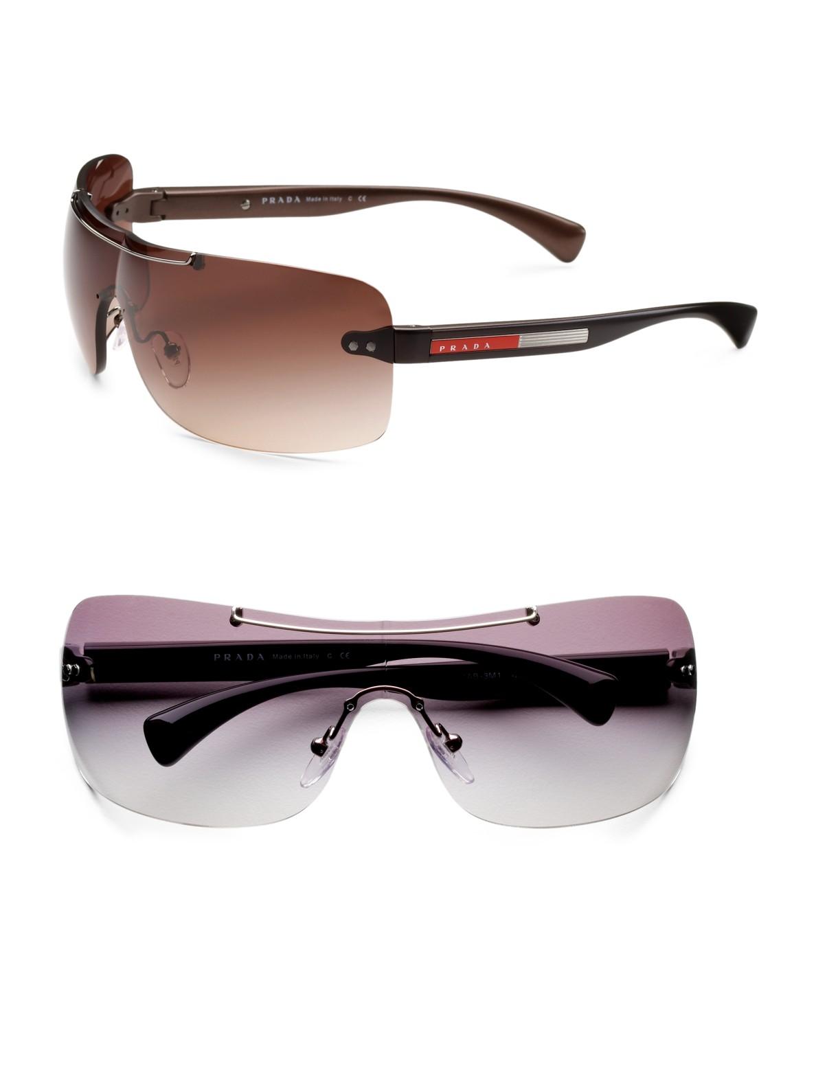 7fe71d89b06a Prada Shield Sunglasses For Men