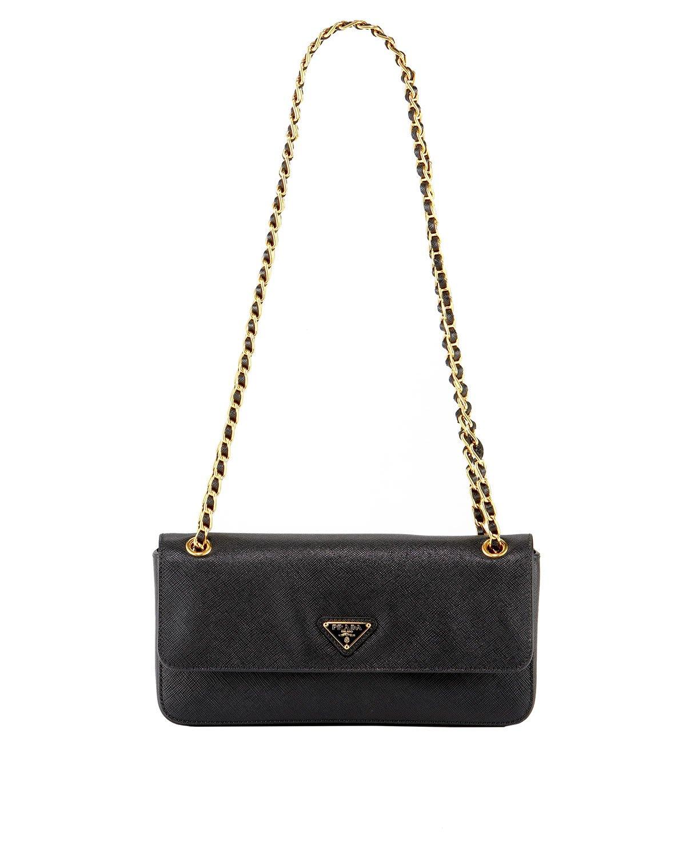 prada gold chain bag