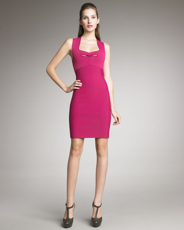 Fuchsia Sheath Dress