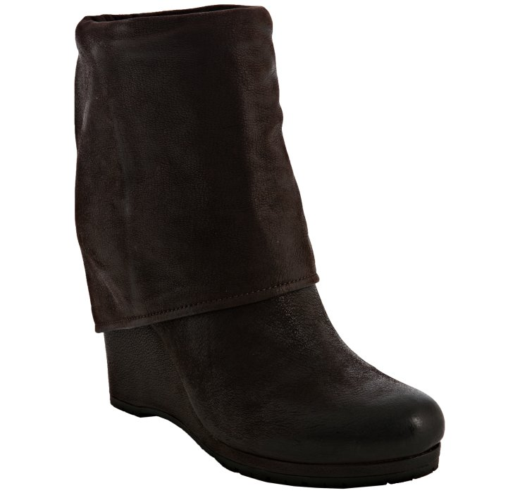 Prada Sport Leather Fold-Over Booties free shipping new styles 2he0VNhNN6
