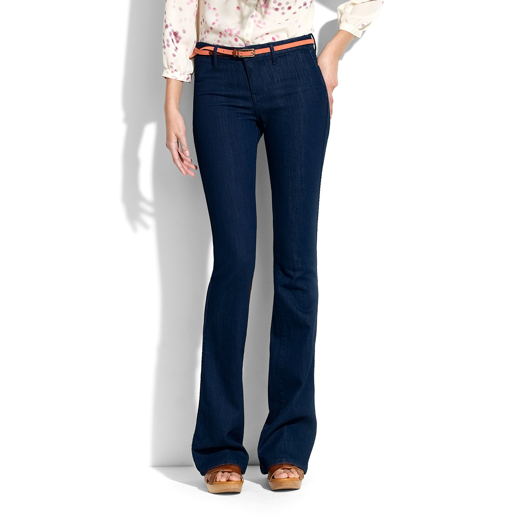 Lyst - Madewell Vintage Rocker Jeans in Eclipse Wash in Blue