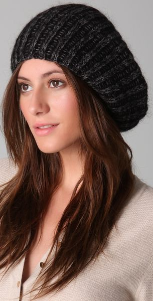 Marc By Marc Jacobs Isadore Sweater Hat in Black