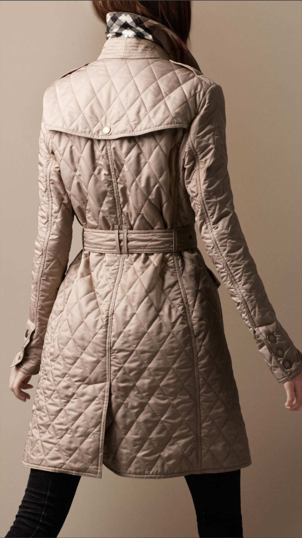 Gallery. Women's Quilted Coats Women's Burberry Brit Trench