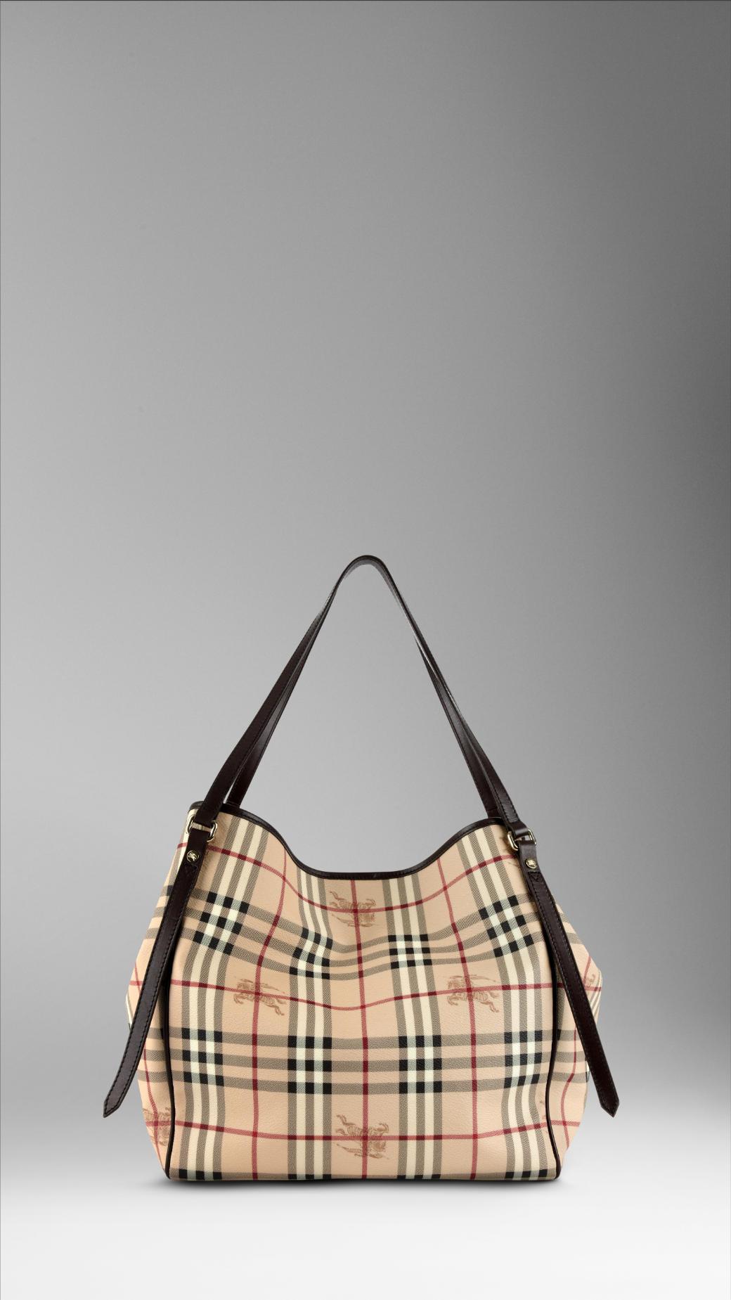 Tote bag burberry - Gallery Women S Burberry Haymarket