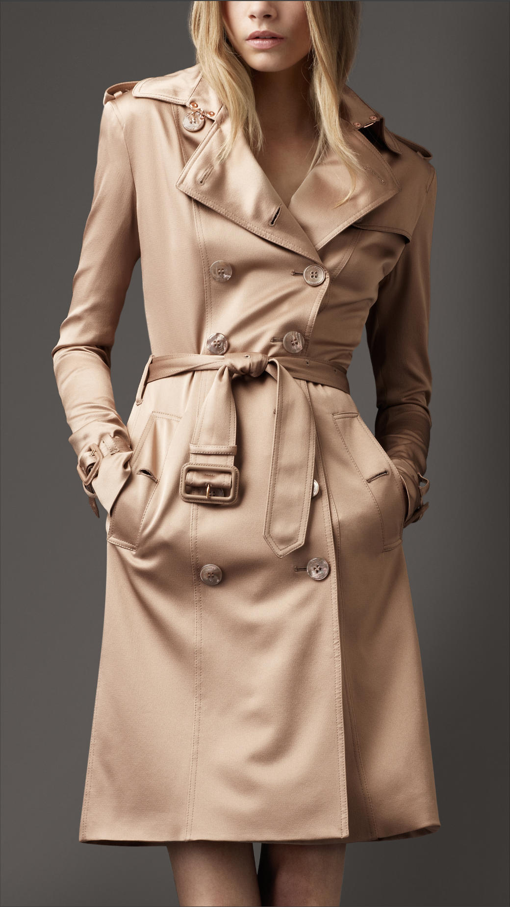 burberry handbags outlet sale 0aho  burberry satin trench coat