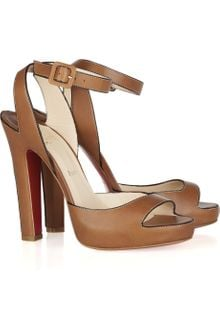 Christian Louboutin Viola 120 Leather Sandals - Lyst
