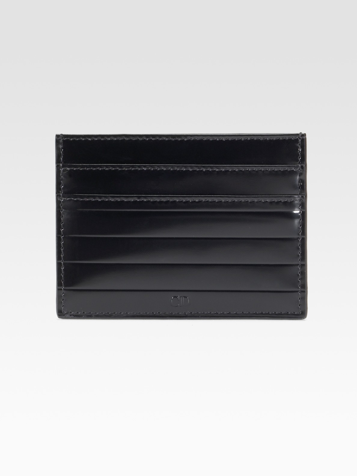 timeless design 673a4 37174 Dior Homme Black Card Case for men