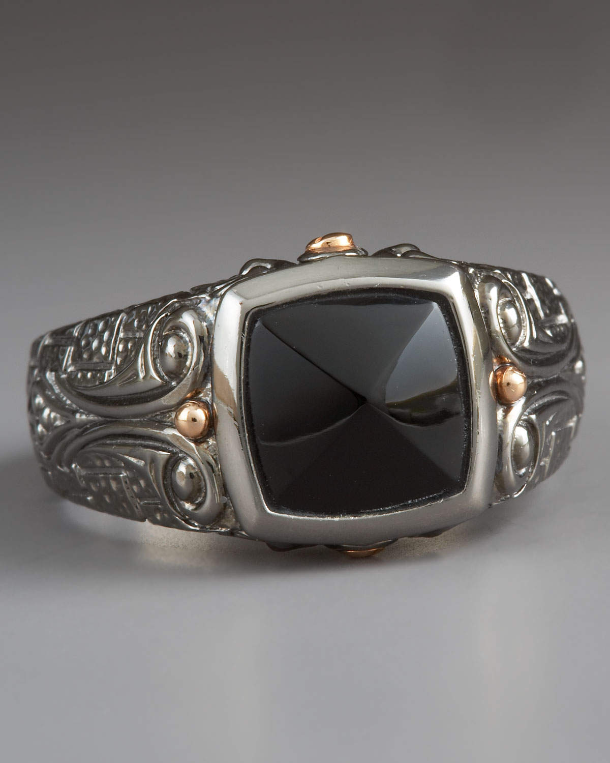 bbf32c58521 Lyst - Stephen Webster Lg Inlay Signet Ring Onyx in Black for Men