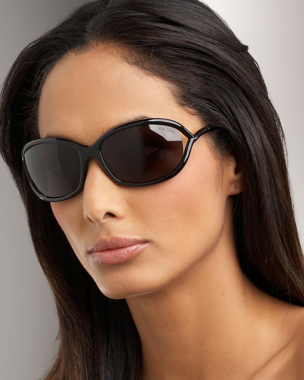 lyst tom ford jennifer sunglasses in black. Black Bedroom Furniture Sets. Home Design Ideas