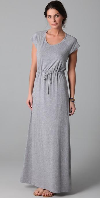 Splendid strapless maxi dress palm