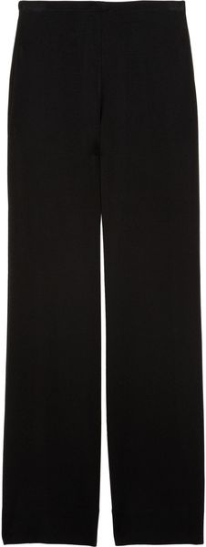 Donna Karan New York Wide-leg Crepe-jersey Pants - Lyst